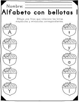 Otoño-temático alfabetismo & mates / Fall-themed Literacy and Math Activities