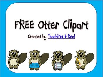 Otter Clipart/Graphics