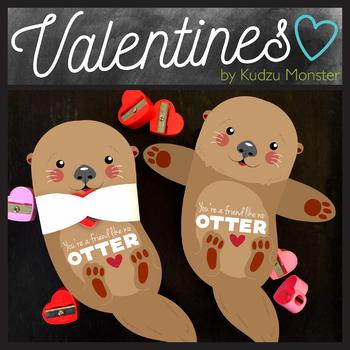 Otter Valentine Hugger