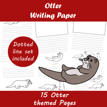 Otter Writing Paper