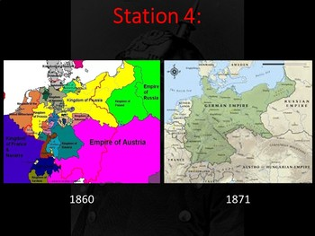 Otto Von Bismarck & the Unification of Germany- Student Centered Stations Lesson