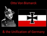 Otto Von Bismarck & the Unification of Germany- Student Ce