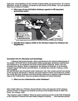 Day 052_Ottoman Empire - Lesson Handout
