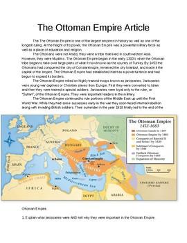 Ottoman Empire Article