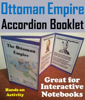 Ottoman Empire Interactive Notebook Activity