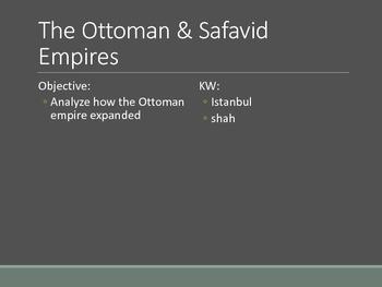 Ottoman & Safavid Empires