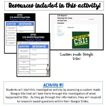 Otzi- CSI Investigation {Digital Version}