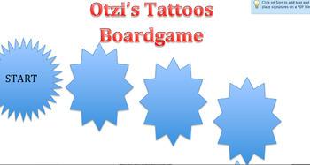 Otzi's Tattoos Boardgame