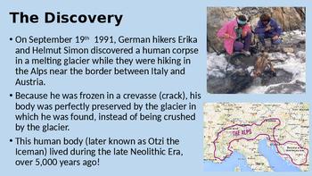 Otzi the Iceman WebQuest