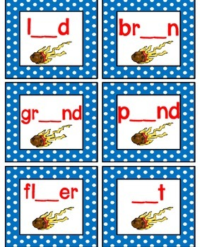 Vowel Diphthongs ou and ow