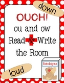Ou and Ow Read and Write the Room / Word Sort