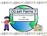 Où est Pierre? – French Vocabulary Presentation and Activi