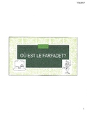 Ou est le Farfadet? - French emergent reader activity for