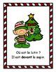 Où est le lutin? Affiches et livre de classe de Noël sur les prépositions