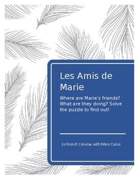 Où sont les amis de Marie?: French Logic Puzzle