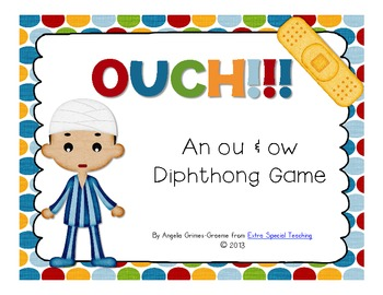 Ouch! - An ou & ow Diphthong Game