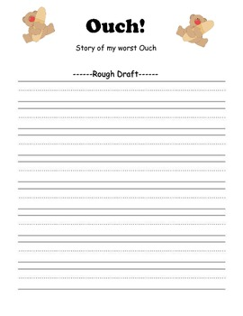 Ouch!  Small Moment/ Narrative Writing