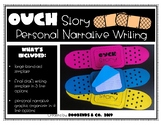 Ouch Story - Personal Narrative Writing & Craftivity