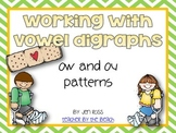 Working with OW and OU: Ouch! Words