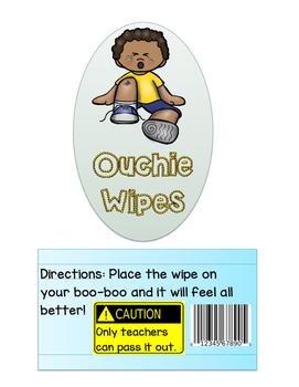 Ouchie Wipes