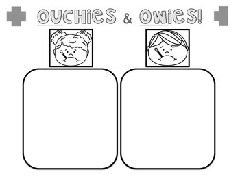 Ouchies & Owies OU OW Sort