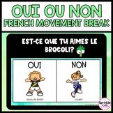Oui ou Non French Digital Movement Break