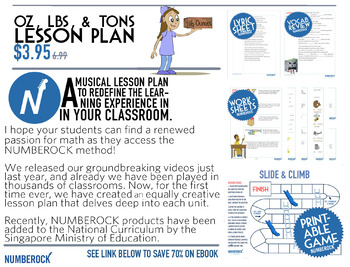 Measurements: Ounces, Pounds & Tons Worksheets | Game | Video | Song
