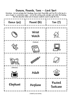 28+ [ Ounces Pounds Tons Worksheet ] | grams and kilograms ...