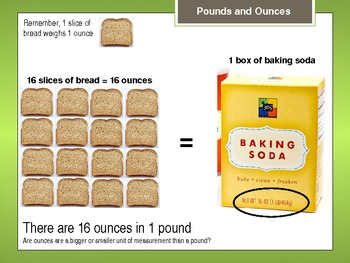 Ounces and Pounds Powerpoint