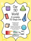 MATH: 3D Shapes in Our World- A COMPLETE Study of 3D Shapes