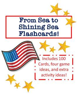 """Our 50 States"" Flashcards and Printables!"