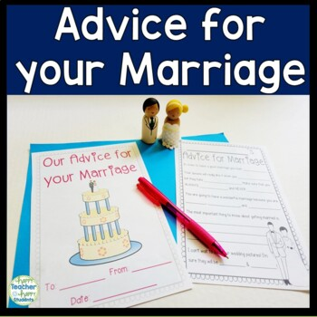 Students Advice For Marriage A Fun Pre Wedding Activity