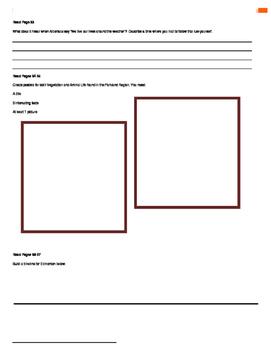 Our Alberta Activity Booklet - Chpt. 5 (The Parklands Region)