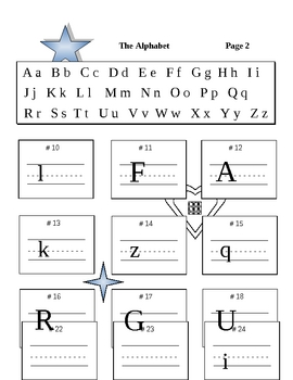 Our Alphabet Upper & Lower Case