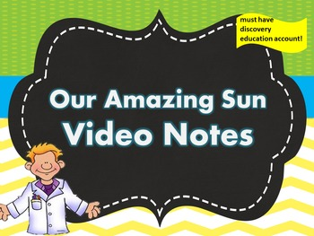 Our Amazing Sun Video Notes