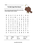 The Bald Eagle Word Search (Grades 1-2)