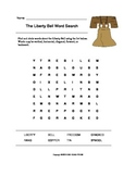The Liberty Bell Word Search (Grades 1-2)