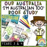 I'm Australian Too Book Study - Year 3 and Year 4