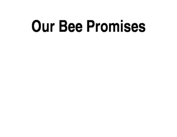 Our Bee Promises