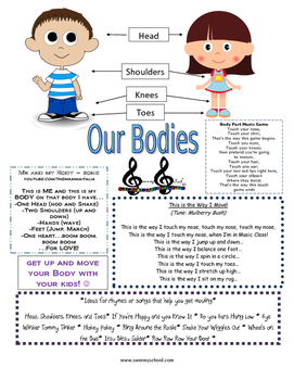 Our Bodies Take Home Packet