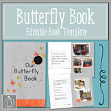 Our Butterfly Book Editable Book Template
