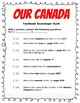 Our Canada Textbook Scavenger Hunt
