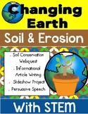 Our Changing Earth Webquest Research Project with STEM