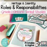 Our Changing Roles and Responsibilities: Grade 1 Ontario Social Studies