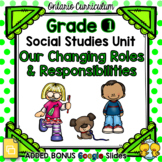 Our Changing Roles and Responsibilities – Grade 1 Social Studies Unit