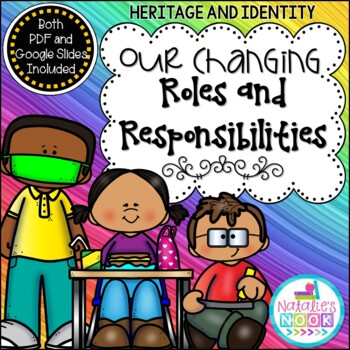 Our Changing Roles and Responsibilities {Primary Social Studies Unit}