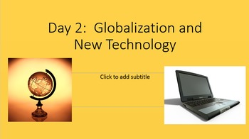 Our Changing World Unit PowerPoint and Jeopardy Game