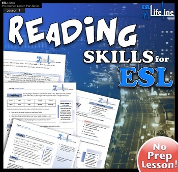 Our City - English Reading Lesson Plan