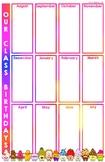 Our Class Birthdays (11x17)