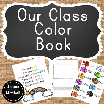 Our Class Book About Colors